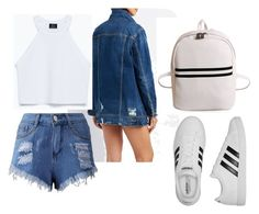 """""""NY Girl 3"""" by kamila201221 on Polyvore featuring мода, Cello и adidas"""