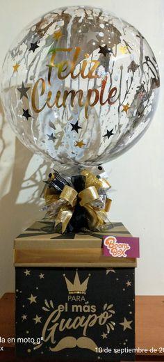 Balloon Box, Christmas Bulbs, Globe, Balloons, Holiday Decor, Home Decor, September 10, Speech Balloon, Globes