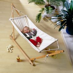 AMAZONAS Koala portable baby hammock and stand  Oo I like this.