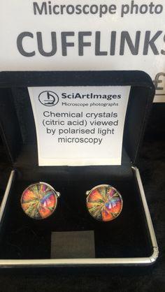 #Science and #art = this! Cool #cufflinks @HarrogateFlower