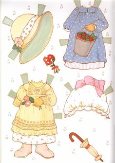 Puddin Paper Doll - Reproduction edition by Award Publications Limited, 2000:  page 5 (of 8)