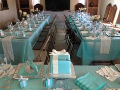 my baby sisters day finally came this was my tiffany themed bridal shower