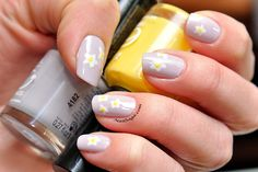 Spring flowers Latest Nail Designs, Spring Flowers, Flower Designs, Saga, Nail Polish, Nails, Finger Nails, Ongles, Manicure