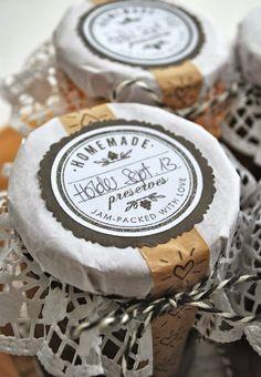 superschöne Etiketten für Marmelade