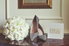 Real wedding: The bride's shoes