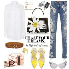 Chase your dreams in high heels of course