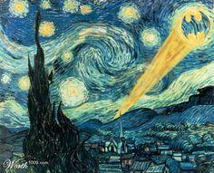 Van Gogh's Batman