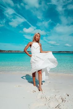 """Everyone needs a white summer dress! The right one like this one can be dressed up or worn casually. "" - What to Pack: Lulus Influencer Vacay Packing List Vacation Style, Vacation Outfits, Vacation Wear, Cruise Wear, Travel Outfits, Summer Fashion Trends, Summer Trends, Cool Summer Outfits, Summer Dresses"
