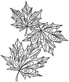 27 Ideas Embroidery Leaf Urban Threads For 2019 Embroidery Designs, Embroidery Leaf, Quilting Designs, Embroidery Stitches, Quilting Ideas, Paper Embroidery, Colouring Pages, Adult Coloring Pages, Coloring Books