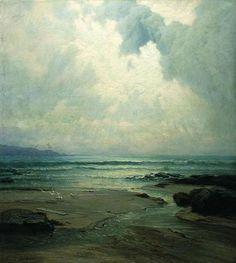 Seascape . Volodymyr Orlovsky . c. 1885