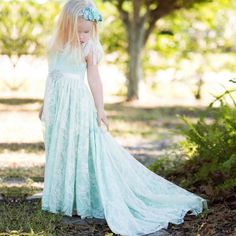 Find More Dresses Information about 2017 New Mint Green Flower Girl Dresses with Long Train Sleeveless A Line Kids Party Dresses Christmas Dress 0 12 Years Vestidos,High Quality dress wear,China dresses baby girl Suppliers, Cheap dress girl baby from DressQueen Store on Aliexpress.com