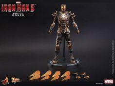 ToyzMag.com » Hot Toys : Iron Man 3 – Bones (Mark XLI)