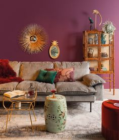 A bohemian interior in 5 steps – All For Decoration Bohemian Interior, Bohemian Decor, Bohemian Living, Vintage Bohemian, Interior Inspiration, Room Inspiration, Interior Bohemio, Retro Home Decor, Room Colors