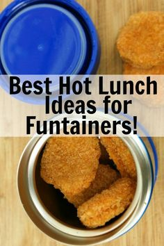 Ditch the boring sandwich and seriously up your school lunch game with a Thermos Funtainer! Check out these great lunch ideas including soup, stew and yes, even chicken nuggets. Who says you can't send a hot lunch to school with the kids? Kids Lunch For School, Healthy Lunches For Kids, Healthy School Lunches, Toddler Lunches, Kids Meals, Thermos Lunch Ideas, Lunchbox Ideas, Lunch Box, Bento Box
