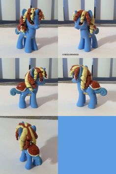 Squirtle My Little Pony Pokemon by Chibisilverwings on Etsy, $30.00
