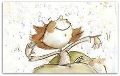 """Foto: """"E bonita mesmo é a capacidade que a gente tem de se refazer todos os dias, mesmo que tudo esteja ao avesso do que queremos. E acordar e dizer baixinho para gente mesmo: é hoje , hoje é o meu dia de ser mais feliz"""".   ___ Cidinha Araújo  -   Il. Irisz Agocs"""