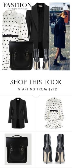 """""""Straight into style"""" by leathersatchel ❤ liked on Polyvore featuring Chloé, self-portrait and Carvela Kurt Geiger"""