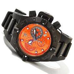 Invicta Mid-Size Subaqua Noma IV Swiss Quartz Chronograph Polyurethane Strap Watch 45mm