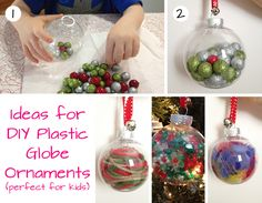 "Have you read my ""DIY Holiday: Kid-Friendly Christmas Ornaments (Part 1)"" post yet? (Click HERE to view.) I gave you instructions on some super-easy but surprisingly beautiful tissue paper ornament..."