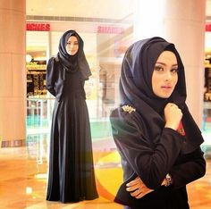 the abaya must be super duper wide looks cool abaya styles from others pinterest niqab. Black Bedroom Furniture Sets. Home Design Ideas