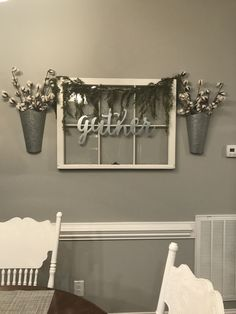 Window Pane Farmhouse decor!