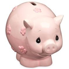 Precious Moments® Piggy Bank in Pink