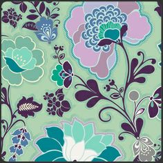 Sweet Melody in Aqua, Patricia Bravo, part of the Poetica collection
