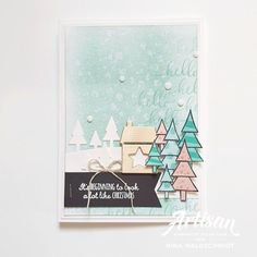 Stampin Up Christmas, Christmas Cards, Marker, Club Design, Craft Club, Diy Blog, Winter Cards, Card Making Inspiration, Stamping Up