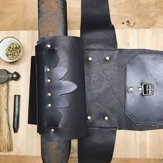 Assembly time 🔨🔨 @crossbowleather #crossbowleather #handcraftedgoods