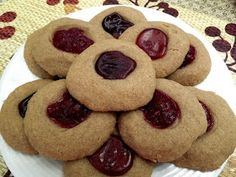 Allergy Free Sunbutter Thumbprint Cookies