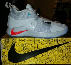 c6a392e78f5 PG PAUL GEORGE 2.5 PLAYSTATION GREY BQ9677-001 GS SIZE 5Y NEW 100% AUTHENTIC