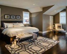 master bedroom color scheme idea - Rockport Grey/ benjamin moore paint
