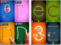 Educational iPad Apps for Pre-K through 1st grade...