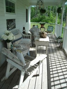 Little country porch. :)