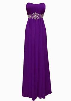 Fiesta Formals Women's Plus Size Strapless Chiffon Goddess Long Prom Gown