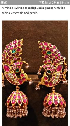 Latest Elegant jewelry of India - Are you researching for quality indian jewelry online, indian artificial jewelry online, plus indian gold jewelry online shopping,. CLICK Visit link to see Silver Jewellery Indian, Indian Wedding Jewelry, Gold Jewellery Design, Temple Jewellery, Gold Jewelry, Branded Jewellery, Craft Jewelry, Jewelry Shop, Gold Jhumka Earrings