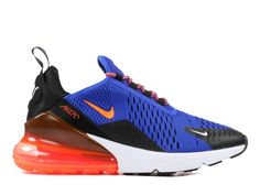 00bfea90cdf Coussin Dair Officiel Nike Air Max 270 Midnight Chaussures Sportswear Homme  Bleu blanc rouge 943345-