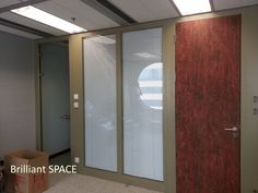 Glass System Wall 怡和大廈 (厚框雙層清玻璃屏風-內置百葉 Double Clear Glass Panel with blind) 15