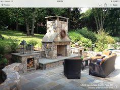 outdoor fireplace designs | Outdoor Fireplaces | Expert Design ...