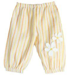 Lindsey Berns #kids striped daisy pantaloons