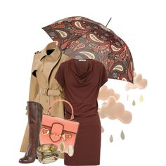 Rain by melfrein on Polyvore featuring мода, Zenggi, Bouchra Jarrar, Frye, Moschino, Wallis, Kendra Scott and Topshop