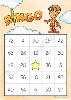 Bingo zum Kleinen Einmaleins - Seite 4