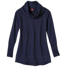 Merona® Women's Funnelneck Hi/Lo Tunic Top - Assorted Colors: tried this on and love the fit! $27.99
