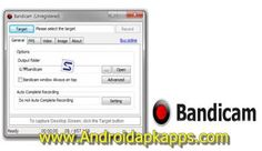 Download Bandicam 2.3.2.851 Full Keygen Terbaru 2015 | Androidapkapps - Bandicam Free Download is an application that buddy AndroidApkApps can be used to record desktop screen, record screen activities which do pal will be saved in a video file,