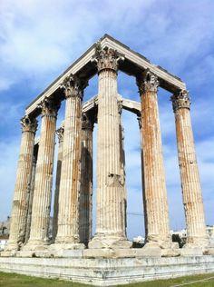 Temple of Olympian Zeus. Historic Site