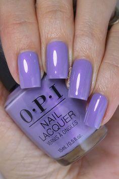 Grape Fizz Nails Opi Polish, Nail Polish Colors, Bad Nails, Swatch, Mauve Nails, American Nails, Halloween Nail Art, Nagel Gel, Flute
