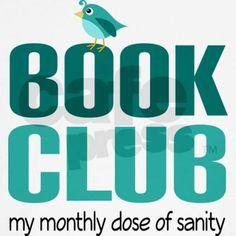 Book Club Sanity T-Shirt on CafePress.com