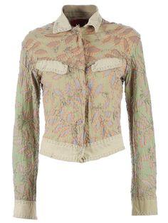 appliquéd jacket http://picvpic.com/women-coats-jackets-jackets-blazers/10428607-appliqued-jacket