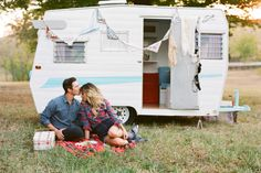 caravan. maybe if i hang bunting on our camper a man will lovingly kiss my forehead lol