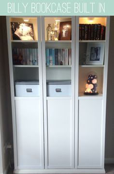 Billy Bookcase Built In's